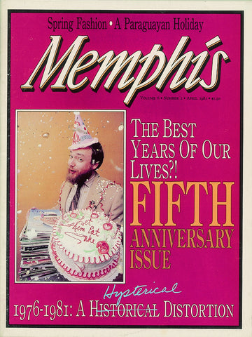 April 1981, Memphis magazine