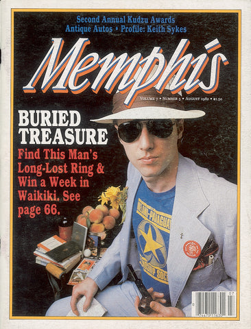 August 1982, Memphis magazine