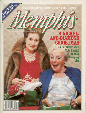 December 1982, Memphis magazine