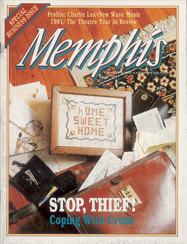 February 1982, Memphis magazine