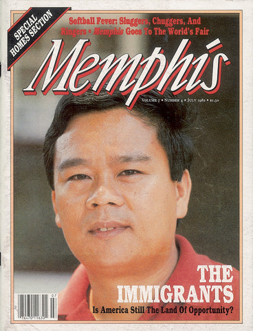 July 1982, Memphis magazine