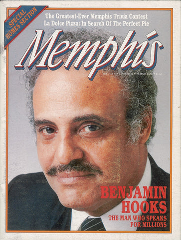 March 1982, Memphis magazine