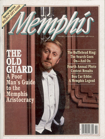 November 1982, Memphis magazine