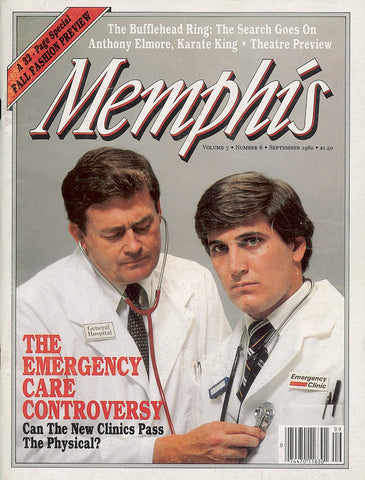 September 1982, Memphis magazine