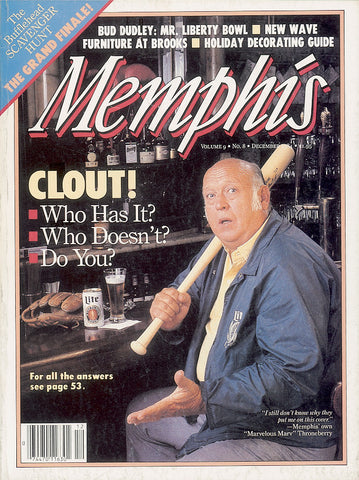 December 1984, Memphis magazine