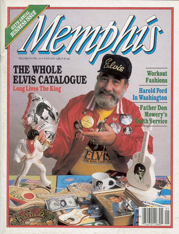 January 1984, Memphis magazine
