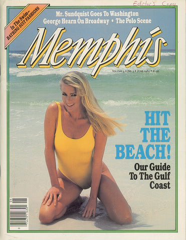 June 1984, Memphis magazine