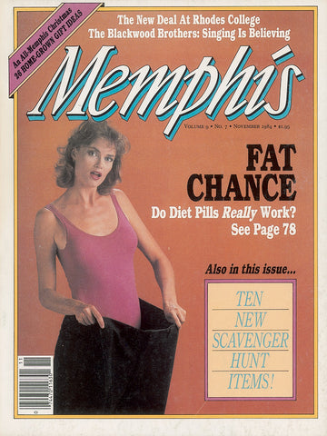 November 1984, Memphis magazine