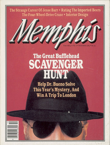 October 1984, Memphis magazine