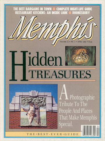 April 1985, Memphis magazine
