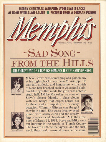December 1985, Memphis magazine