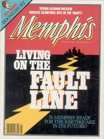 March 1985, Memphis magazine