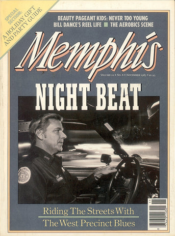 November 1985, Memphis magazine
