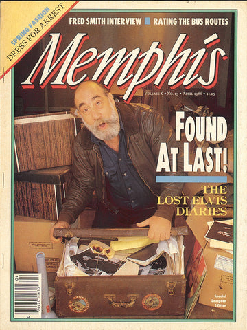 April 1986, Memphis magazine