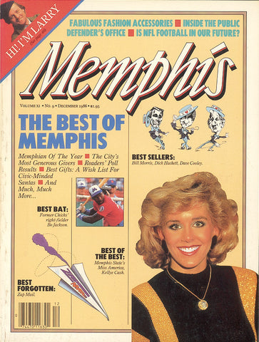 December 1986, Memphis magazine