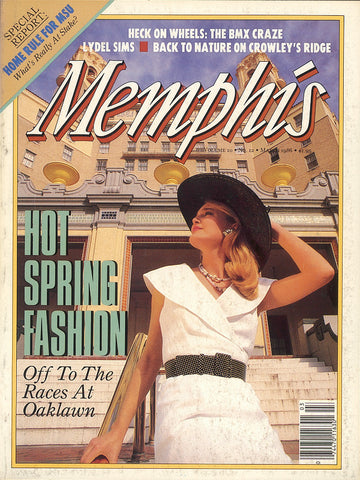 March 1986, Memphis magazine