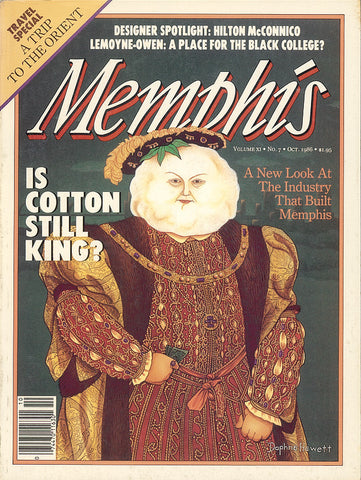 October 1986, Memphis magazine