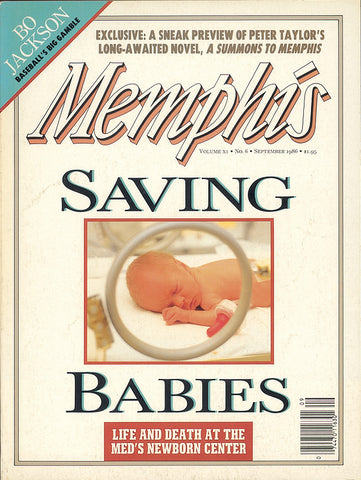 September 1986, Memphis magazine