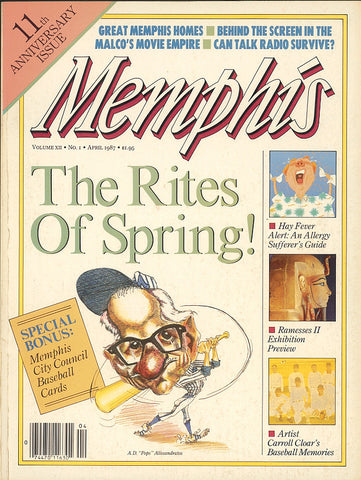 April 1987, Memphis magazine