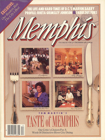 December 1987, Memphis magazine