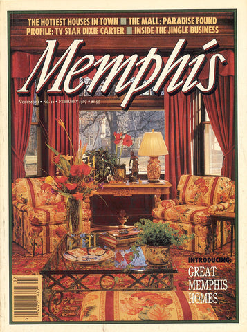 February 1987, Memphis magazine