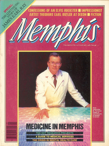 January 1987, Memphis magazine