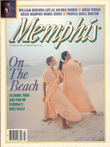 March 1987, Memphis magazine