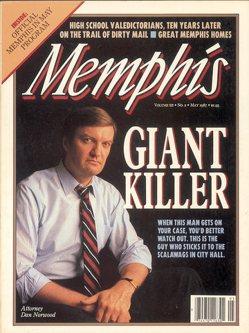 May 1987, Memphis magazine