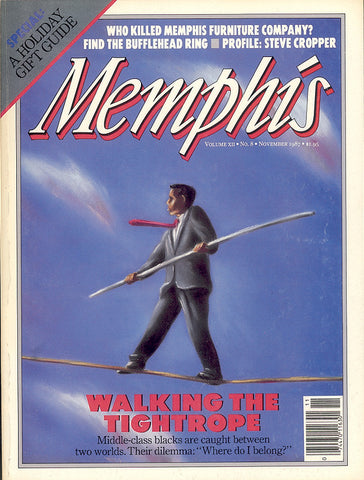 November 1987, Memphis magazine