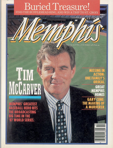 October 1987, Memphis magazine