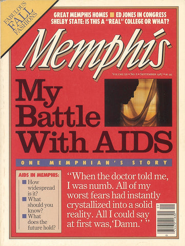 September 1987, Memphis magazine