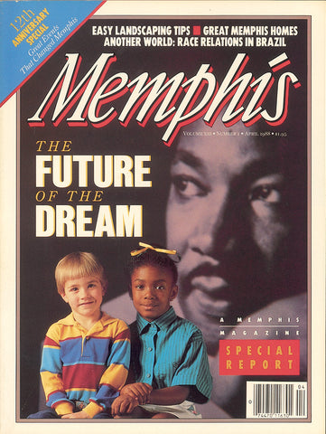 April 1988, Memphis magazine