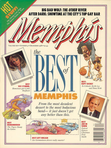 December 1988, Memphis magazine