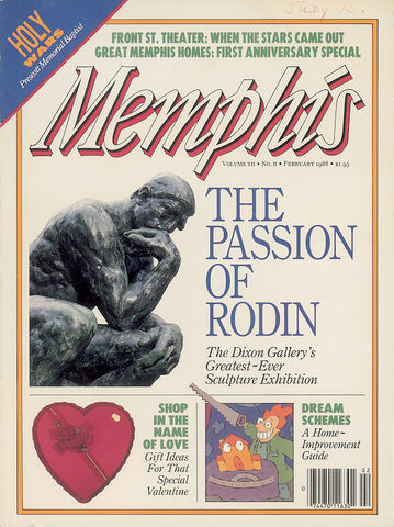 February 1988, Memphis magazine