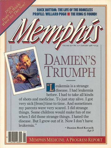 January 1988, Memphis magazine