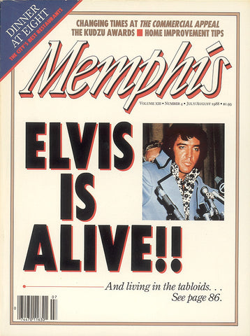 July/August 1988, Memphis magazine