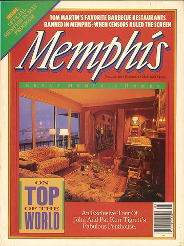 May 1988, Memphis magazine