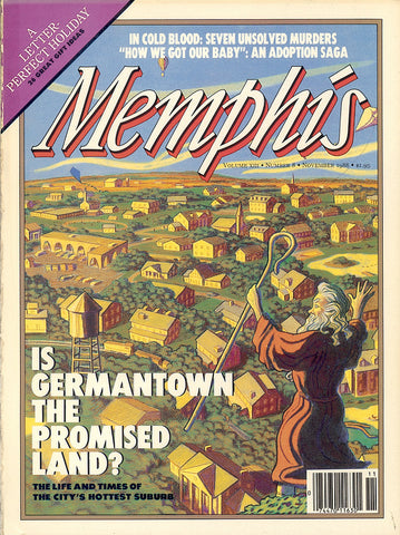November 1988, Memphis magazine