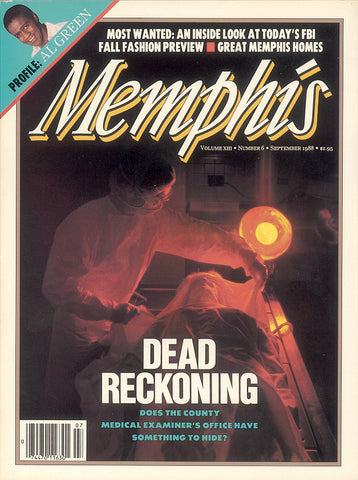 September 1988, Memphis magazine