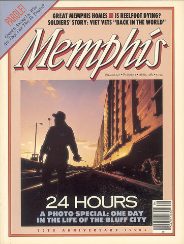 April 1989, Memphis magazine