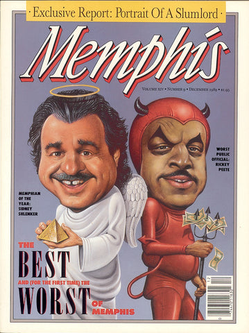 December 1989, Memphis magazine