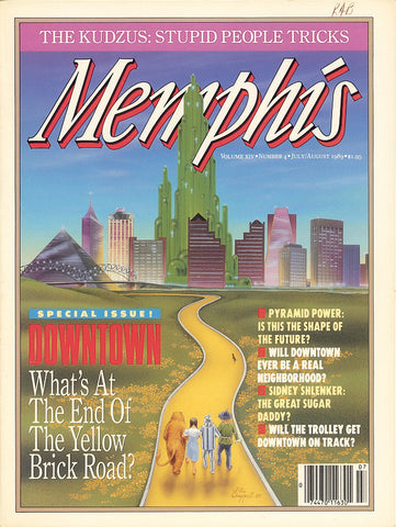 July/August 1989, Memphis magazine