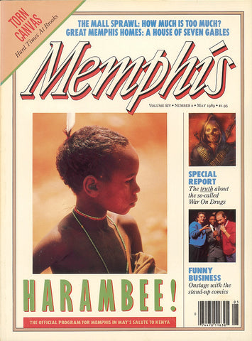 May 1989, Memphis magazine