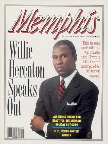 November 1989, Memphis magazine