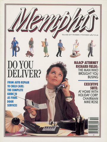 October 1989, Memphis magazine