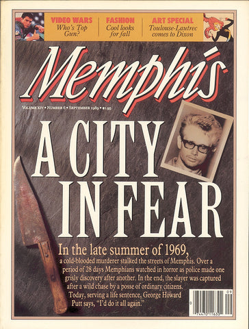 September 1989, Memphis magazine