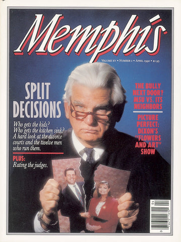 April 1990, Memphis magazine