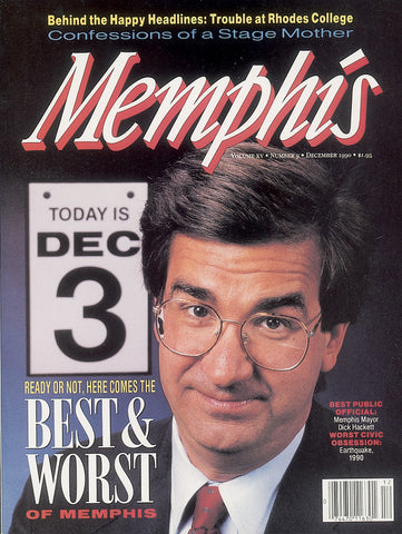 December 1990, Memphis magazine