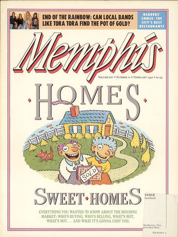 February 1990 , Memphis magazine