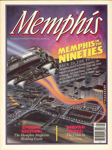 January 1990, Memphis magazine